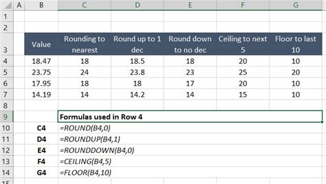roundup excel function excel round nearest 5 cents shopde club