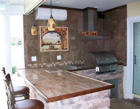 Outdoor Kitchen Backsplash Ideas Building Ideas For Outdoor Rooms Gazebo
