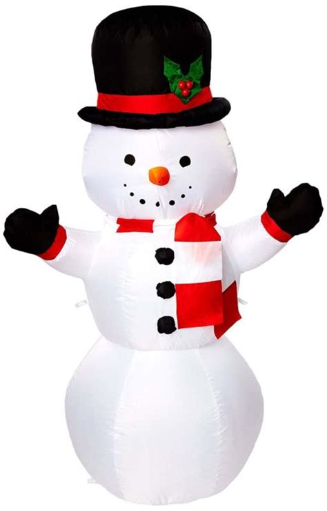4 ft snowman christmas tree outdoor lighted snowman shop collectibles daily