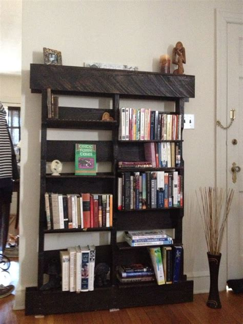 pallet bookshelf pallets by pallet