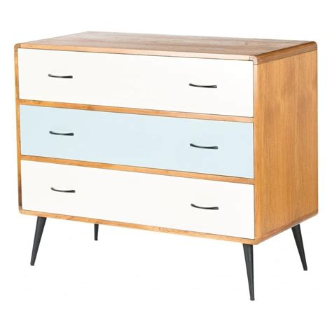 Chest Of Drawers Sale Uk by Libra Retro Chest Of Drawers From Fusion Living White And Blue Chest