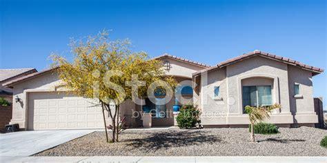 arizona style homes arizona style house design common to the region stock