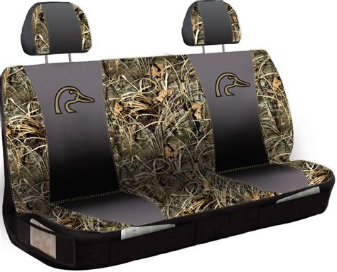 realtree camo bench seat covers ducks unlimited universal fit bench seat cover polyester