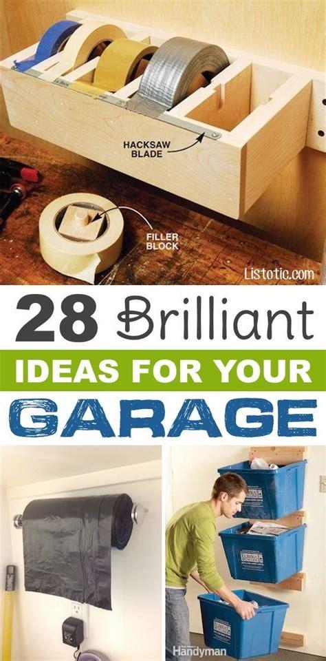 11 Clever Diy Garage Storage Ideas 1000 Ideas About Garage Remodel On Garage