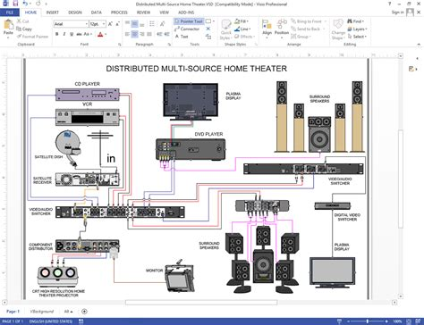 home theater system connection diagram 28 images