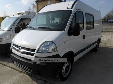 opel movano 2008 opel movano 2 5 tdci 2008 box type delivery van high and