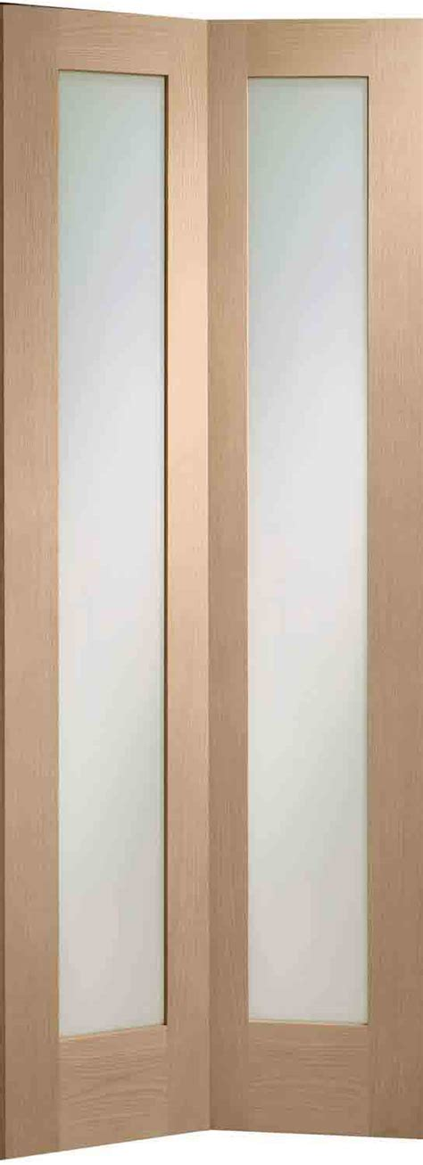 folding interior glass doors 4 panel bofolding oak internal doors