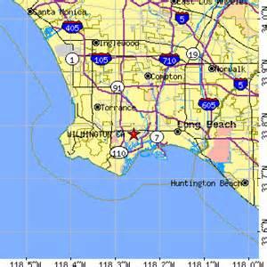 wilmington california map wilmington california ca population data races