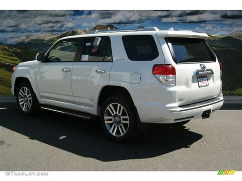 2013 Toyota 4runner Limited 2013 Blizzard White Pearl Toyota 4runner Limited 4x4