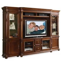 wooden varnished lcd tv showcase furniture design