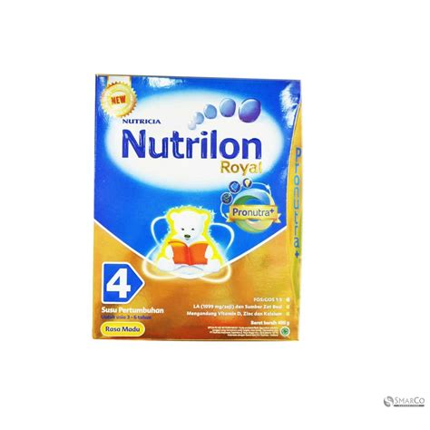 Nutrilon Royal 4 detil produk nutrilon royal 4 pronutra 4 honey kotak 400