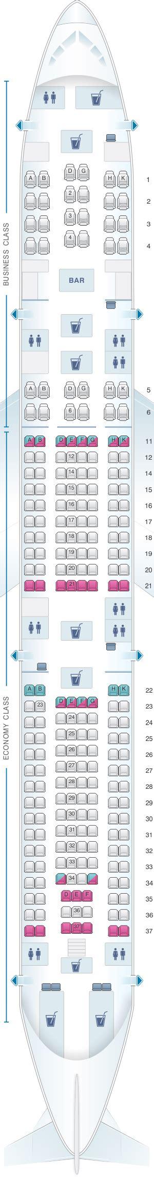 iberia airbus a340 500 seat map plan de cabine airbus a340 500 seatmaestro fr