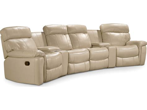 Home Theater Sectional Sofa Furniture Taupe Motion Six Home Theater Sectional Sofa Hooss620ht082