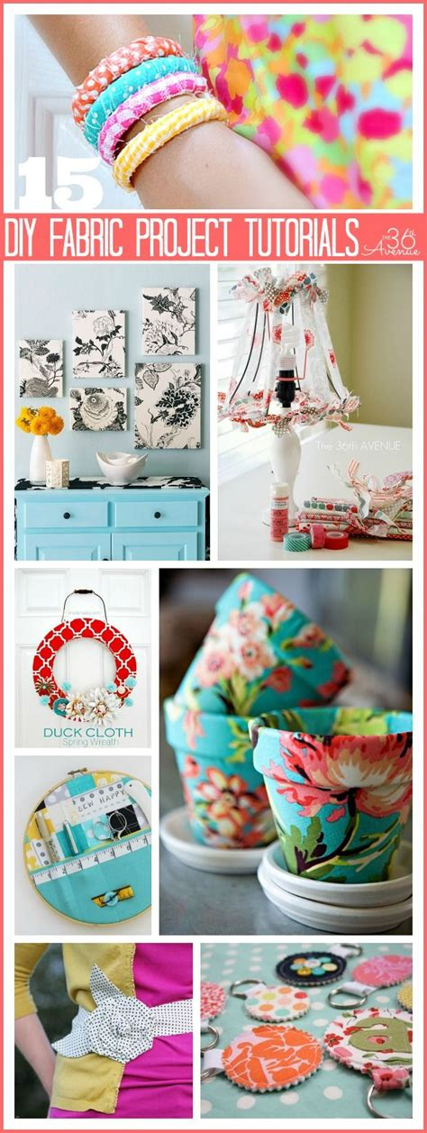 diy fabric crafts 15 fabric projects and tutorial