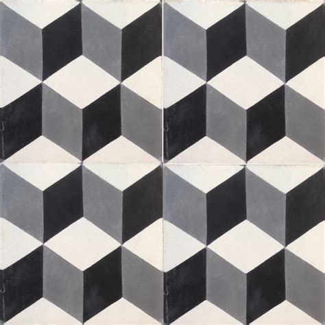geometric pattern tiles uk geometric black 3d effect encaustic tile