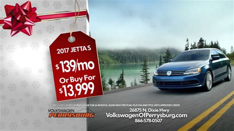 volkswagen holiday sales event  youtube