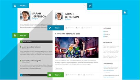 E Resume Website Template by 20 Creative Resume Website Templates To Improve Your
