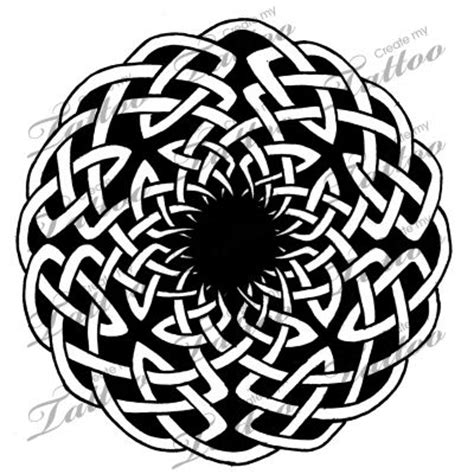 celtic circles tattoo designs marketplace celtic circle knot 2 16621