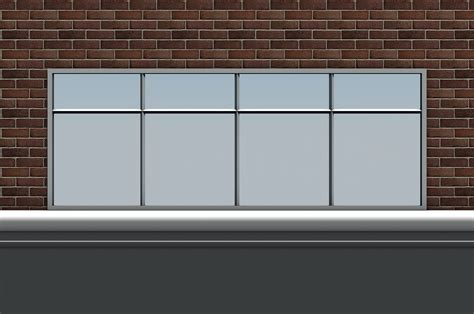 shop front window empty templates vol 1 free