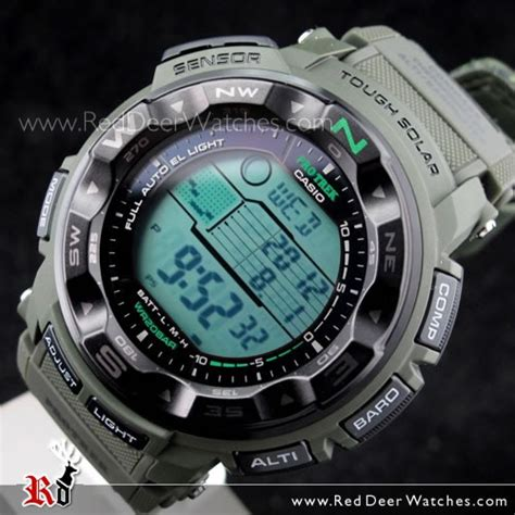 Casio Original Protrek Prg 250b 3 buy casio protrek tough solar sensor camouflage