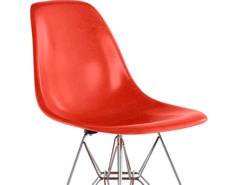 eames wire side eames 174 molded fiberglass side chair with wire base