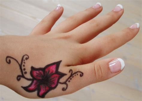 hand tattoos for girls 60 attractive tattoos for