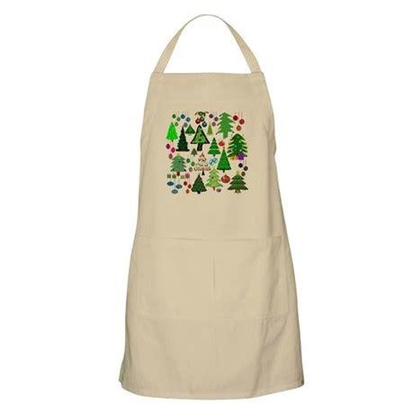 oh christmas tree apron by stircrazy