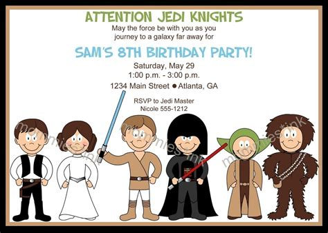 printable lego star wars invitations 7 best images of free printable star wars invitations