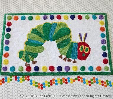 The very hungry caterpillar bath mat pottery barn kids
