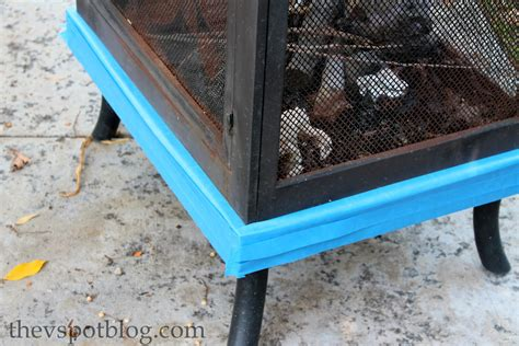 Spray Paint Pit freshen up a pit with high heat spray paint the v spot