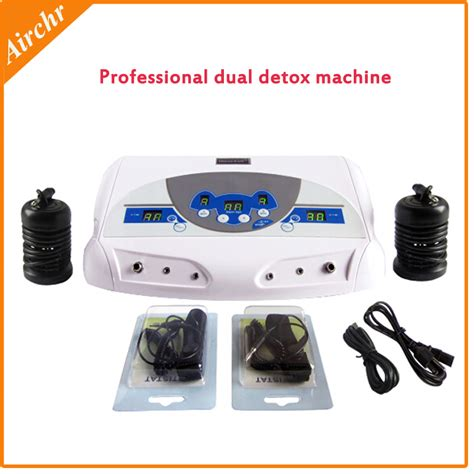 Professional Foot Detox Machine by By Dhl Ems Professional Ionic Foot Dual Detox