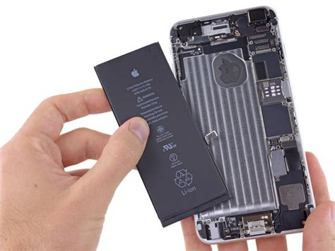 Battery Iphone 6 Plus iphone 6 plus battery replacement ifixit