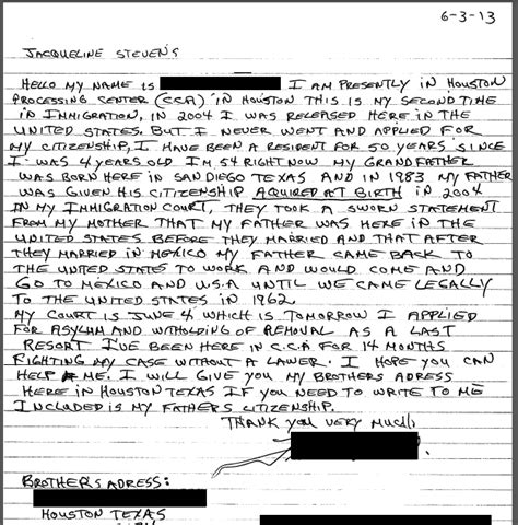 Hardship Letter To Prevent Deportation letter to immigration judge for a friend image collections