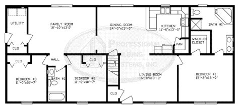 modular floor plans ranch ranch designs floorplans advantage modular