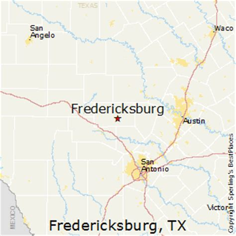map of fredericksburg texas best places to live in fredericksburg texas