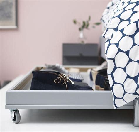 bed shoe storage with wheels 9 ways to make the storage your bed work harder