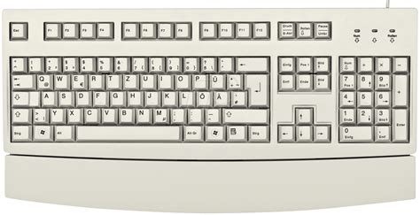 Keyboard Elektronik g83 6260lunde 0 keyboard usb grey with palm rest german at reichelt elektronik