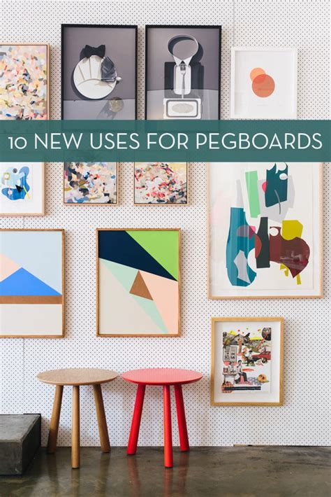 peg board designs diy pegboard display images