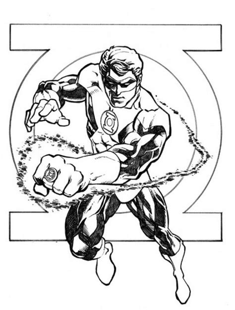 green lantern coloring pages 165 best superheroes coloring pages images on