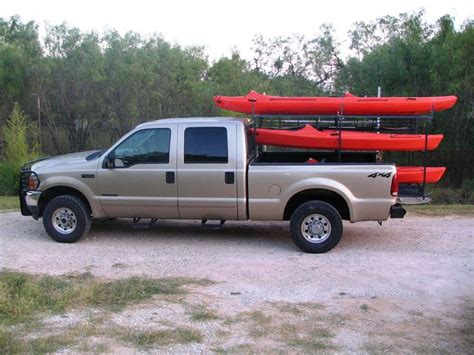 pickup bed boat rack best 25 kayak rack for truck ideas on pinterest kayak