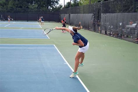 tennis swings girls tennis swings into new season manhasset press