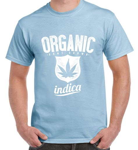 Tshirts Cannabis Bc organic indica marijuana cannabis s t shirt