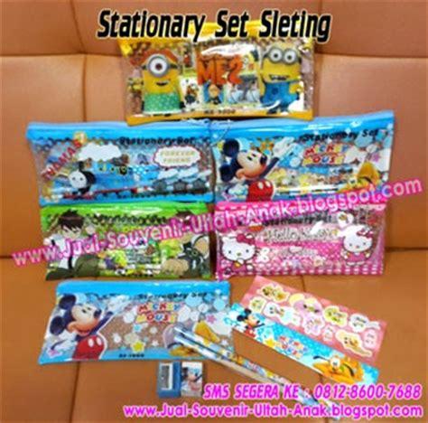 Murah Stationary Set Set Alat Tulis jual souvenir bingkisan hadiah kado ulang tahun anak dengan harga grosir di jamin murah