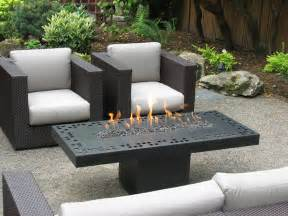 Patio Furniture With Propane Fire Pit Table - fire features contemporary fire table steel with high temp finish natural gas fueled 29 quot x