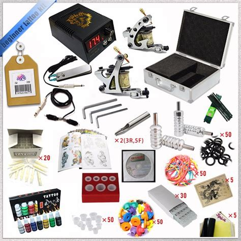 tattoo kit wholesale wholesale beginner tattoo starter kits 2 guns machines