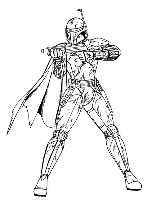 lego wars boba fett coloring pages boba fett in wars coloring page batch coloring
