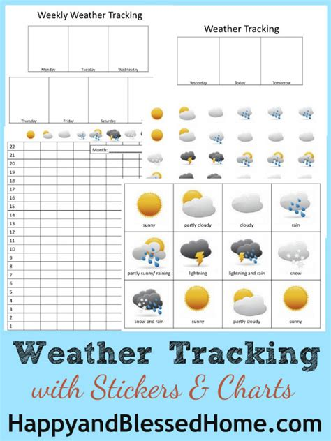 free printable weather graphs free weather tracking printables