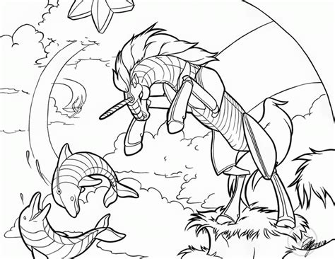 zombie unicorn coloring page drawing of a unicorn coloring home