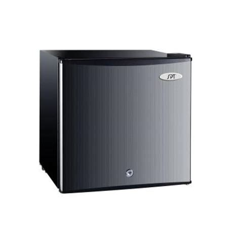 Small Upright Freezers At Home Depot Spt 1 1 Cu Ft Upright Compact Freezer In Stainless Uf