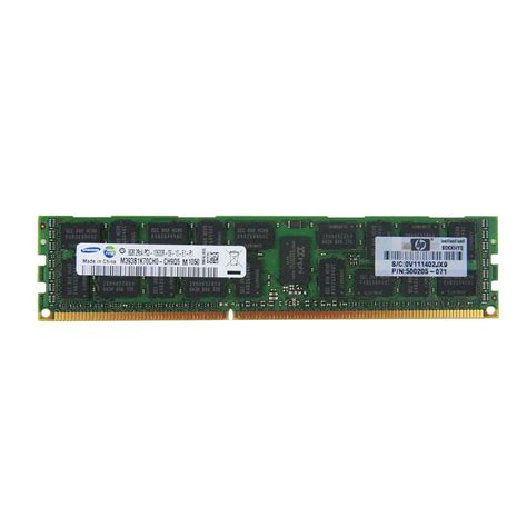 Memory Hp Yang 16gb Hp 500662 16g 16gb 2x8gb 1333mhz Pc3 10600 Ecc Reg Ddr3 Memory Kit